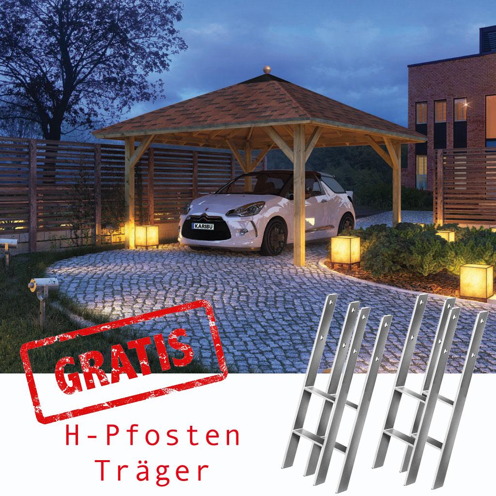 karibu gartenh user versandhandel by karibu carport und garagen versand. Black Bedroom Furniture Sets. Home Design Ideas
