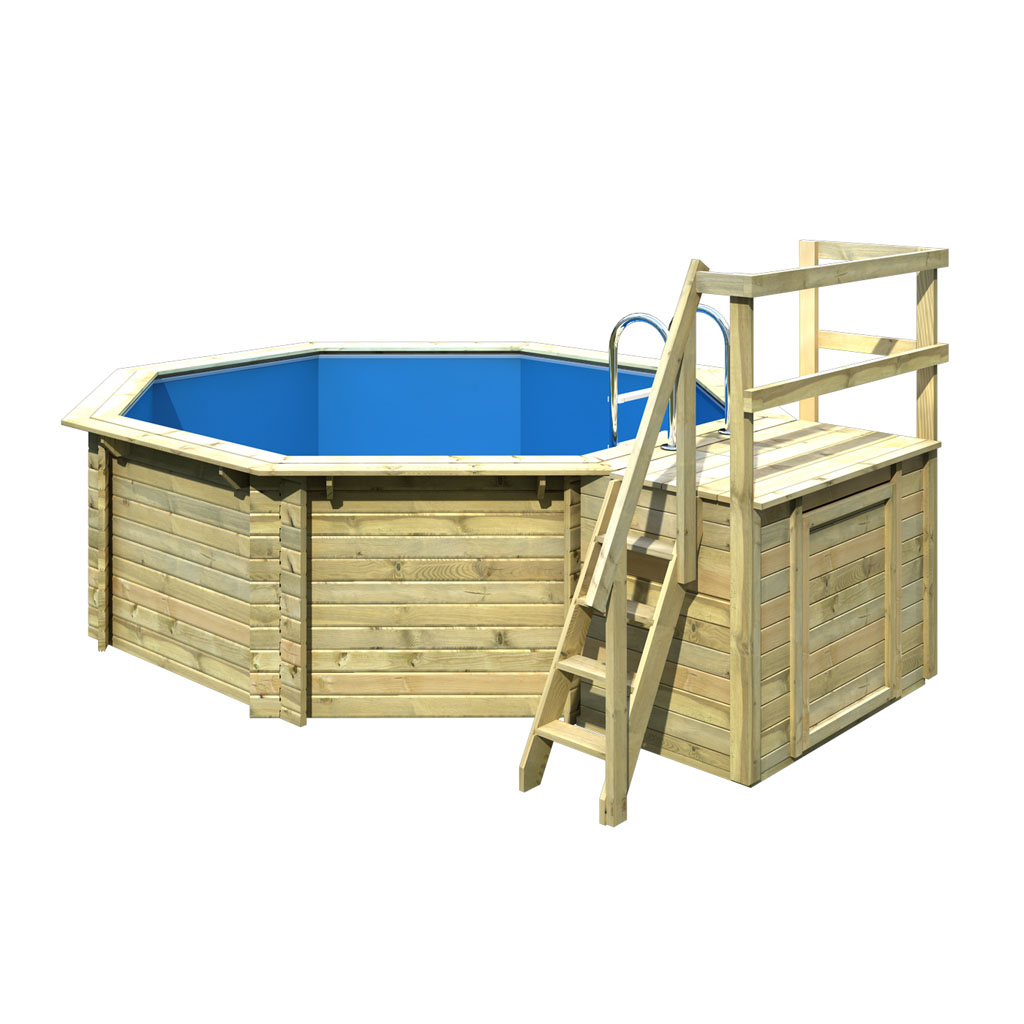 Bild Von Karibu Pool Modell 1 Variante B
