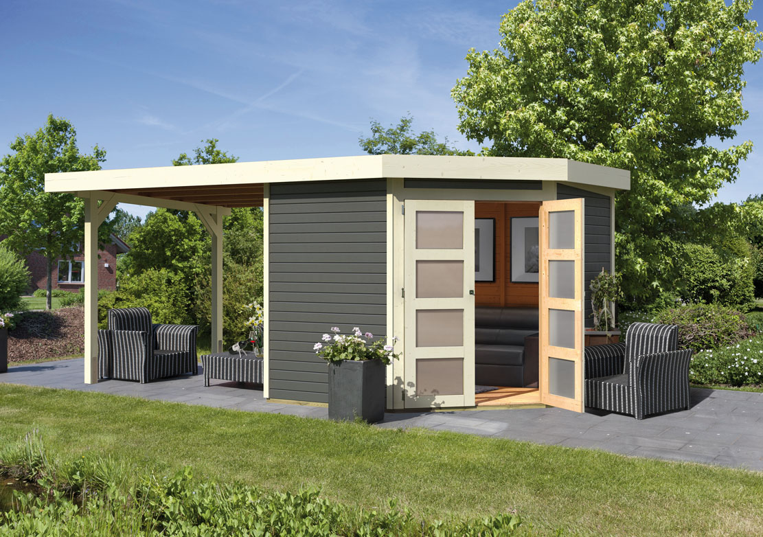 karibu gartenh user versandhandel by karibu gartenhaus goldendorf 5 terragrau. Black Bedroom Furniture Sets. Home Design Ideas