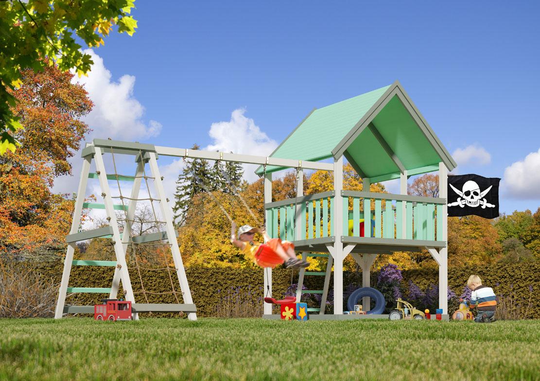 Klettergerüst Garten Kunststoff : Karibu gartenhäuser versandhandel by gamoni akubi